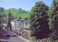 Machynlleth, heart of rural Wales ~