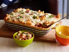 Baked Ziti recipe from Ree Drummond via Food Network