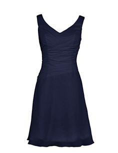 Dressystar Damen Kurz Chiffon V-Ausschnitt Brautjungfernkleid mit Trägern Marineblau in Größe 42 Dressystar http://www.amazon.de/dp/B00RF3ME5O/ref=cm_sw_r_pi_dp_Vdefvb080TE82