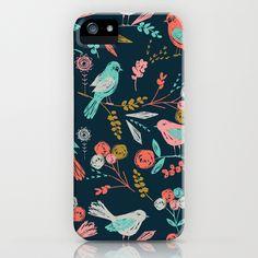 bloom birds iPhone Case