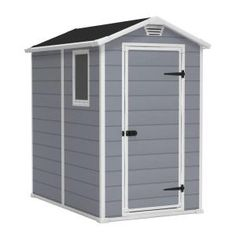 Keter 4 ft. x 6 ft. Manor Shed-17197126 at The Home Depot