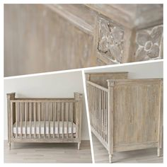 Incy Interiors Baxter Cot in Driftwood