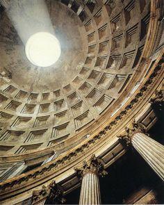 Roman Architecture Dome visualization in architecture: drawing types | rome, architecture