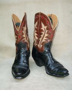 Nacona boots vintage