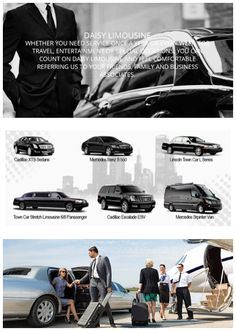Limousine Service, Luxury Limousine Rides, Car, Car Photo, Newark Airport, Teterboro Airport, Daisy Limo in NJ, Teterboro Airport