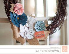 Alexes Brown - Persimmon Wreath