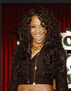 long black curly hair lace front wig.View more on http://shop.wigsbuy.com/Custom-Celebrity-Wigs-101821/