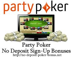 See if You are eligible for up to $150 free poker money on party poker. Review of different party poker no deposit bonus codes 2015