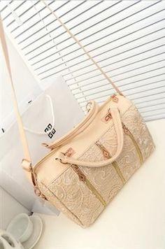 Korean Fashion Princess Lace Pink Daisy Handbag