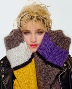 Madonna 1980s. 80s pop music diva. Copy her style for your next 80s murder mystery dinner party. Can't be more relevant to the era :)