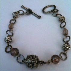 It Was a Legendary Bracelet   Bali Silver and Amethyst by Eldwenne, $15.33 #blackfridayetsy #cybermondayetsy #etsy #etsyjewelry #blackfriday #cybermonday #jewelry #handmade