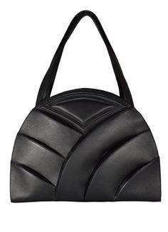 Shell Elegance Handtasche  Schwarz von RIARTFASHION auf Etsy