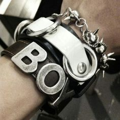Bad Boy Style, My Style, London Outfit, Tough Girl, Bling, Boy London, How To Make Clothes, Modern Outfits, Metal Bracelets