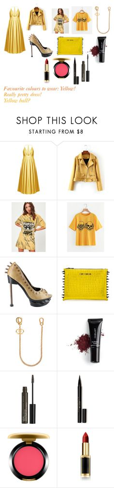 """""""For Sofia (friend) - Sofia's ideal wardrobe by me: Favourite colours to wear - yellow!"""" by sarah-m-smith ❤ liked on Polyvore featuring Racil, Missguided, HADES, Dsquared2, Inglot, NYX, Stila, MAC Cosmetics and L'Oréal Paris"""