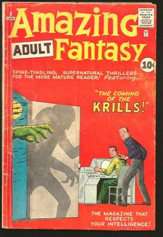 Amazing Adult Fantasy #8 All Steve Ditko Fantasy art Marvel Comics/Atlas 1961