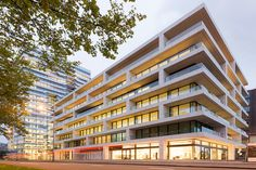 https://flic.kr/p/zZ2v3S   Kantoren, 1000 Mahlerlaan, Zuidas, Amsterdam   Architect: UNStudio (2015)