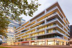 https://flic.kr/p/zZ2v3S | Kantoren, 1000 Mahlerlaan, Zuidas, Amsterdam | Architect: UNStudio (2015)