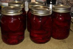 Sweet and Spicy Pickled Beets