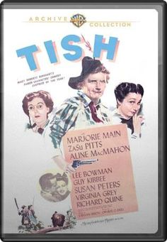 Tish with Marjorie Main