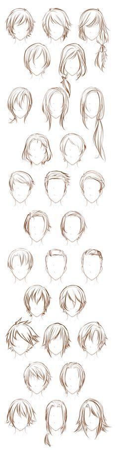 Referência cabelo masculino e feminino