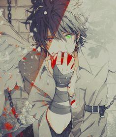 cute anime boy |
