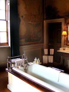Holkham Hall Interiors, bath | photo