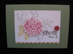 stampin up creative elements