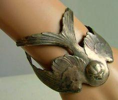 TatiTati Style ➳➳➳ silver bird bracelet