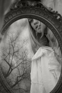 """By Nikaa    """"Memory is a mirror that scandalously lies.""""     ― Julio Cortázar"""