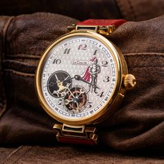 LeCoultre vintage wristwatch - pocket watch converted into wristwatch – Patina Original Mens Skeleton Watch, Custom Leather, You Bag, Pocket Watch, Watches, Accessories, Vintage, Wristwatches, Clocks