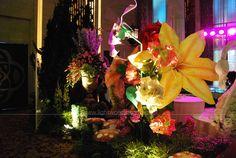 Decoration by Lotus Design ; Located in bali Room - Kempinski Hotel, Jakarta ; Lighting by Lightworks