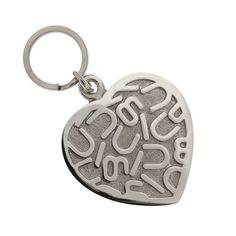 Dije grande para mascota Corazón Letras Nuugi by Tanya Moss ¡Presume el gran corazón de tu perrito! <3