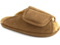 d3ba25db2 Love the easy adjustable fit on this men s sheepskin slipper by Lamo.