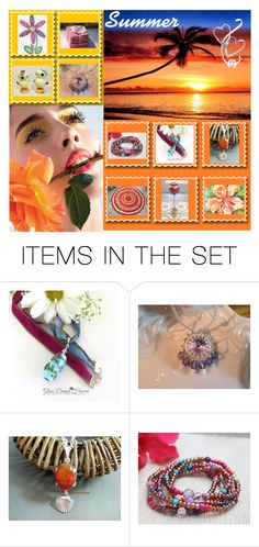 Summer Of Love by glassdreamshawaii on Polyvore featuring art