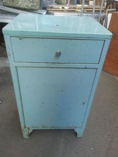 gVintage Fort Ord Silas Hays Army Hospital Mid Century Medical Cabinet Doctor's