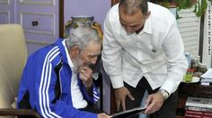 Fidel Castro meets with 5 Cuban intelligence agents freed from U.S