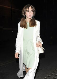Suki Waterhouse's Femme Fatale Pigtails: More Bardot than Brady for more fashion and beauty advise check out The London Lifestylist http://www.thelondonlifestylist.com