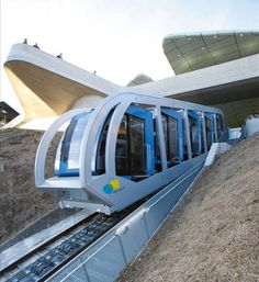 IF130 Hungerburgbahn - Funicular - automatic inclination system
