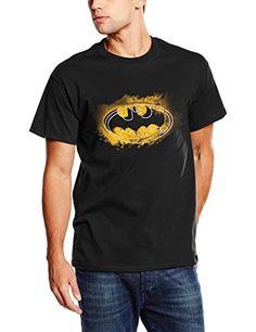 DC Comics Red Geometric-camiseta Hombre Negro negro XX-Large Logo De Batman d64828b1a299c