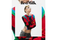 Tosca is the new protagonist of oru new red fashion story - Redmilk - RedMilk