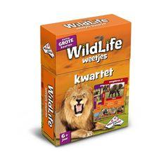 Wildlife Weetjes Kwartet - Kaartspel