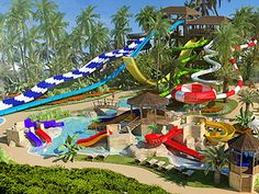 Memories Splash Punta Cana Resort with awesome Onsite Water Park! Royalton Punta Cana, Punta Cana Hotels, Resorts For Kids, All Inclusive Family Resorts, Caribbean All Inclusive, Caribbean Vacations, Family Vacation Spots, Family Vacation Destinations, Vacation Ideas
