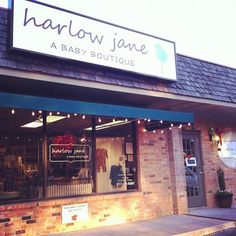 Store Front #baby boutique www.harlowjane.com