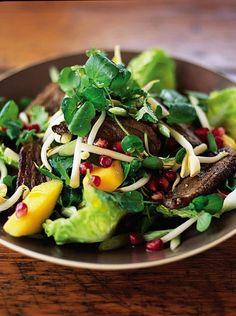 five spice duck salad