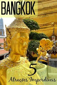 Bangkok é uma das cidades mais interessantes do Sudeste Asiático, paraíso dos mochileiros. Quer saber quais foram as atrações que achamos mais sensacionais?! Clique e leia nosso post completo.: