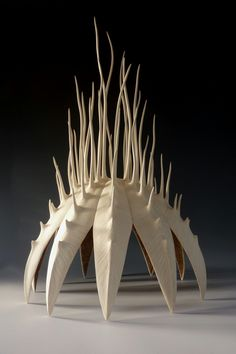 "Alain Mailland ~ ""Pavillon de la Mer"" ~ Wood Sculpture Hackberry 2009"