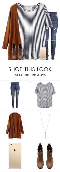 """""""baby I'm just tryna be honest"""" by jasietote ❤ liked on Polyvore featuring H&M, Organic by John Patrick, GlassesUSA and mendesarmy"""