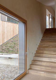 Haus Y2 av Destilat, foto av Mark Sengstbratl, #arkitektur i #trä