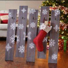 Stocking hanging idea