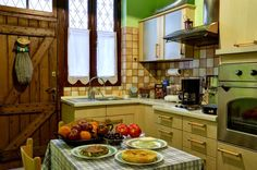 kichen Kitchen Cabinets, Travelling, Greece, Room, Kitchens, House, Home Decor, Greece Country, Bedroom
